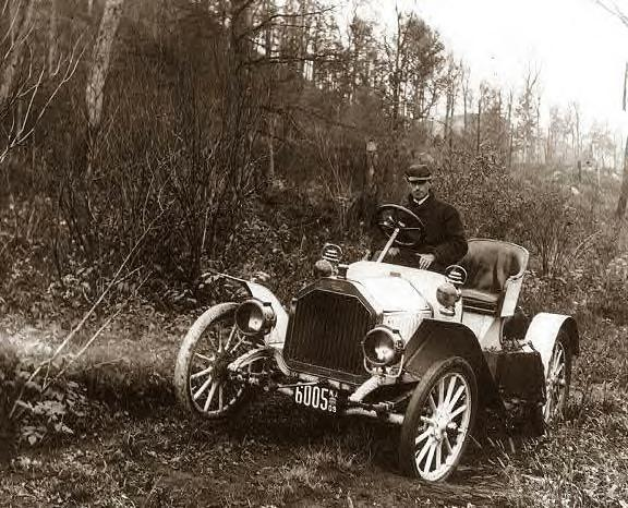 66 Buick on Corduroy Road to Oregon, 1909.JPG