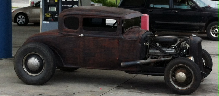 1931 Ford Model A Coupe Chopped Traditional Style Hot Rod