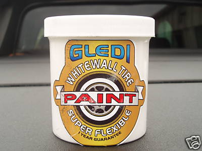 White Tire Paint >> Rubberized White Wall Tire Paint The H A M B