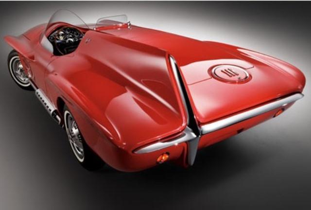 7 - 1960 Plymouth-XNR Concept (low 3-4 rear).jpg