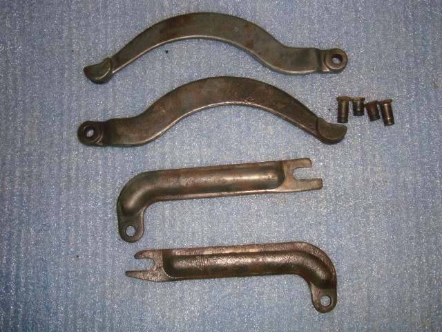1939 1948 Ford Rear Backing Plate Emergency Brake Levers