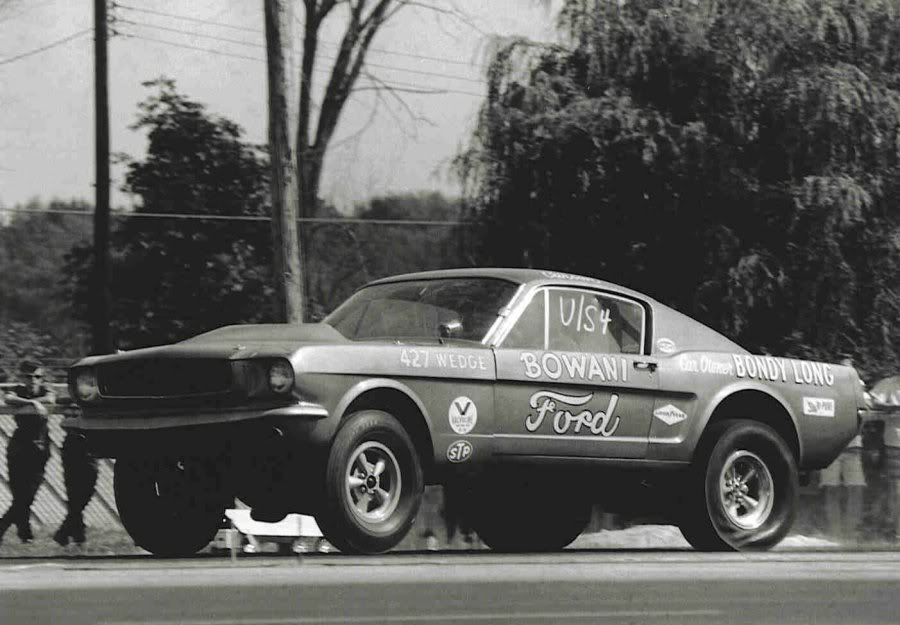 Image result for BOWANI II '65-'66 Mustang Ultra Stock/match racer