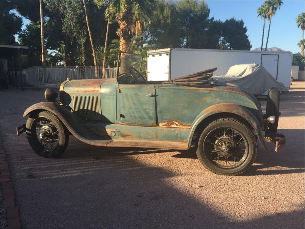 1929 Ford Roadster Killer Patina Very Original Runs & Drives | The ...