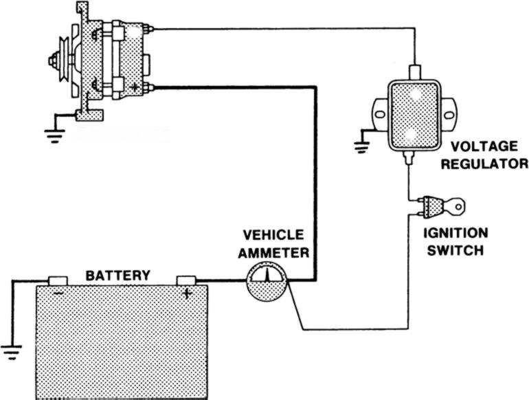 How To Hook Up Amp Gauge Help Please, Amp Gauge Wiring Diagram