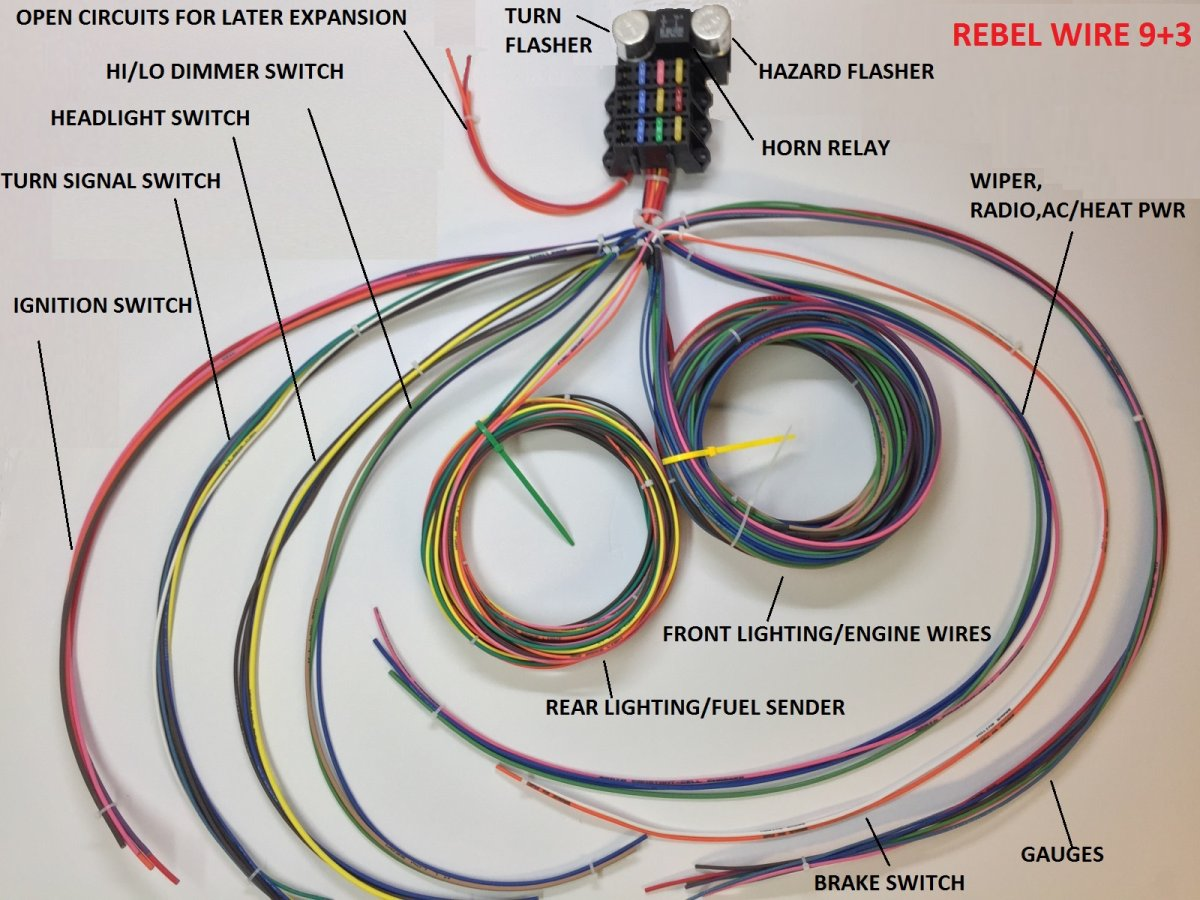 Technical - Rebel Wire Harness diagrams and wiring info ... on