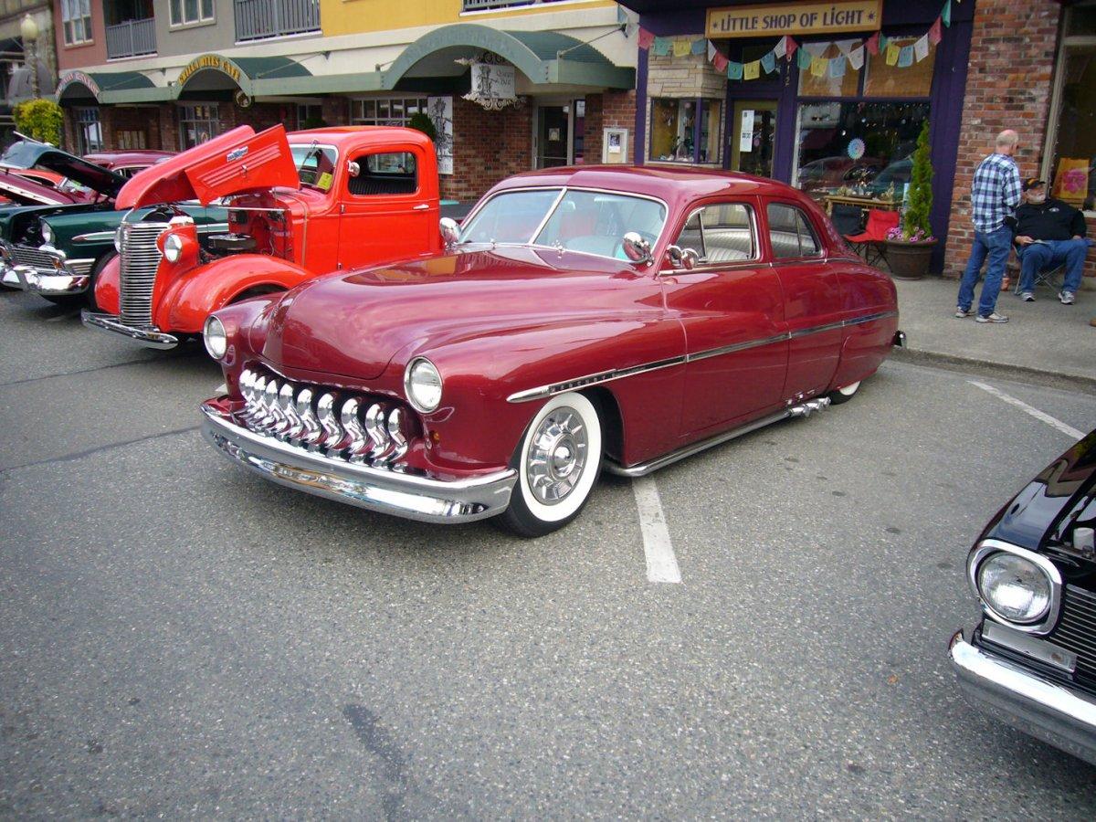 Snohomish Washington Car Show