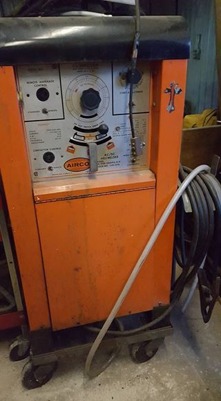 Airco 300amp TIG & Stick Welder 220v Single Phase Water Cooled
