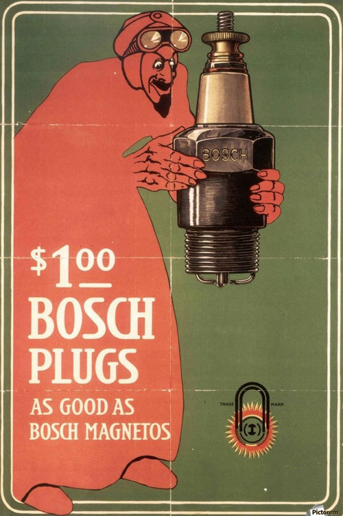 900_Vintage Bosch Spark Plugs Advertising Poster.jpg