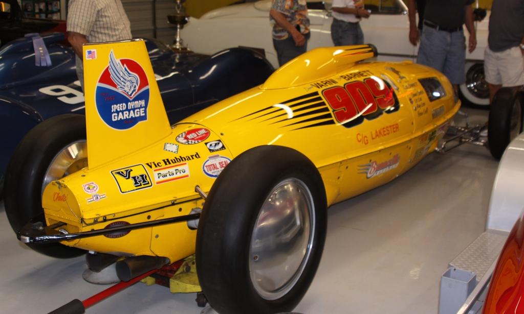 #909 C @ Speed Nymph Garage (8-20-13) - Rear .JPG