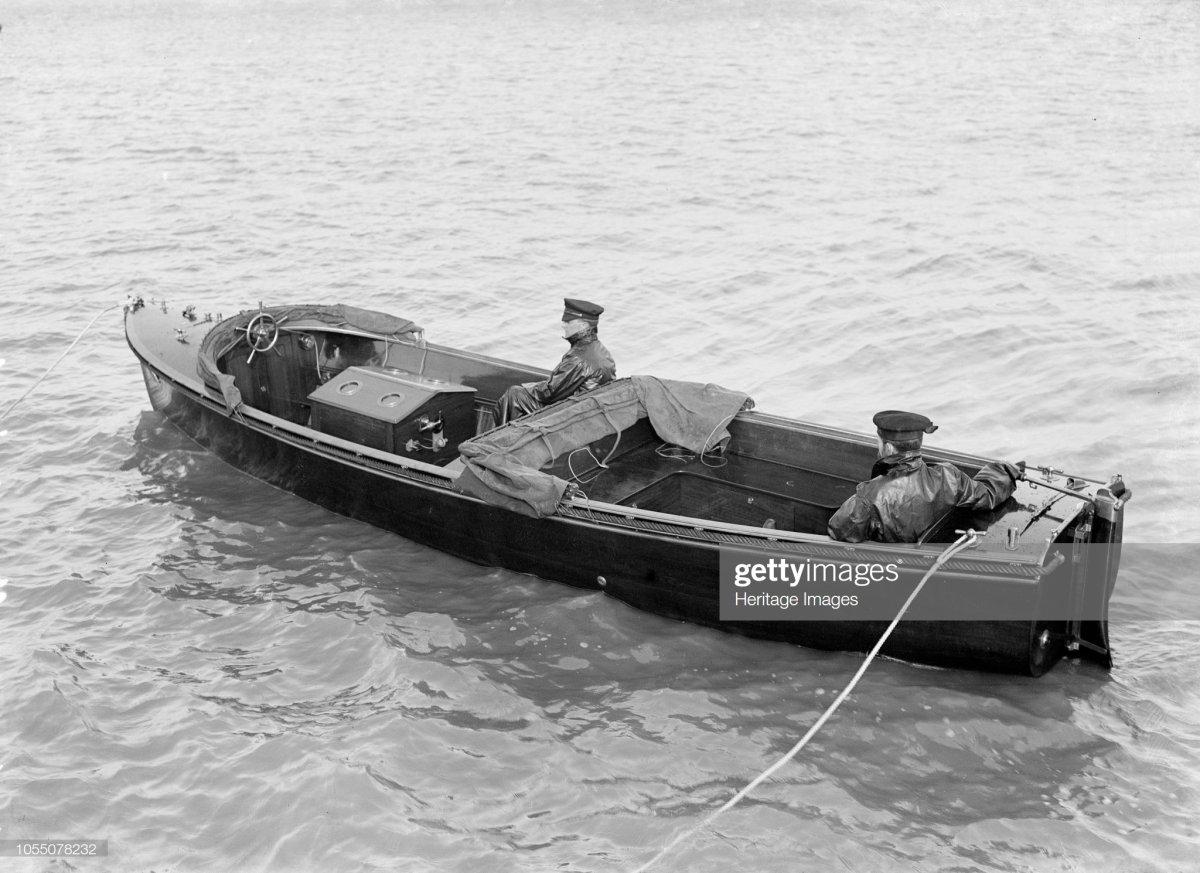 97 Venetia's Wolseley motor launch, 1914..jpg