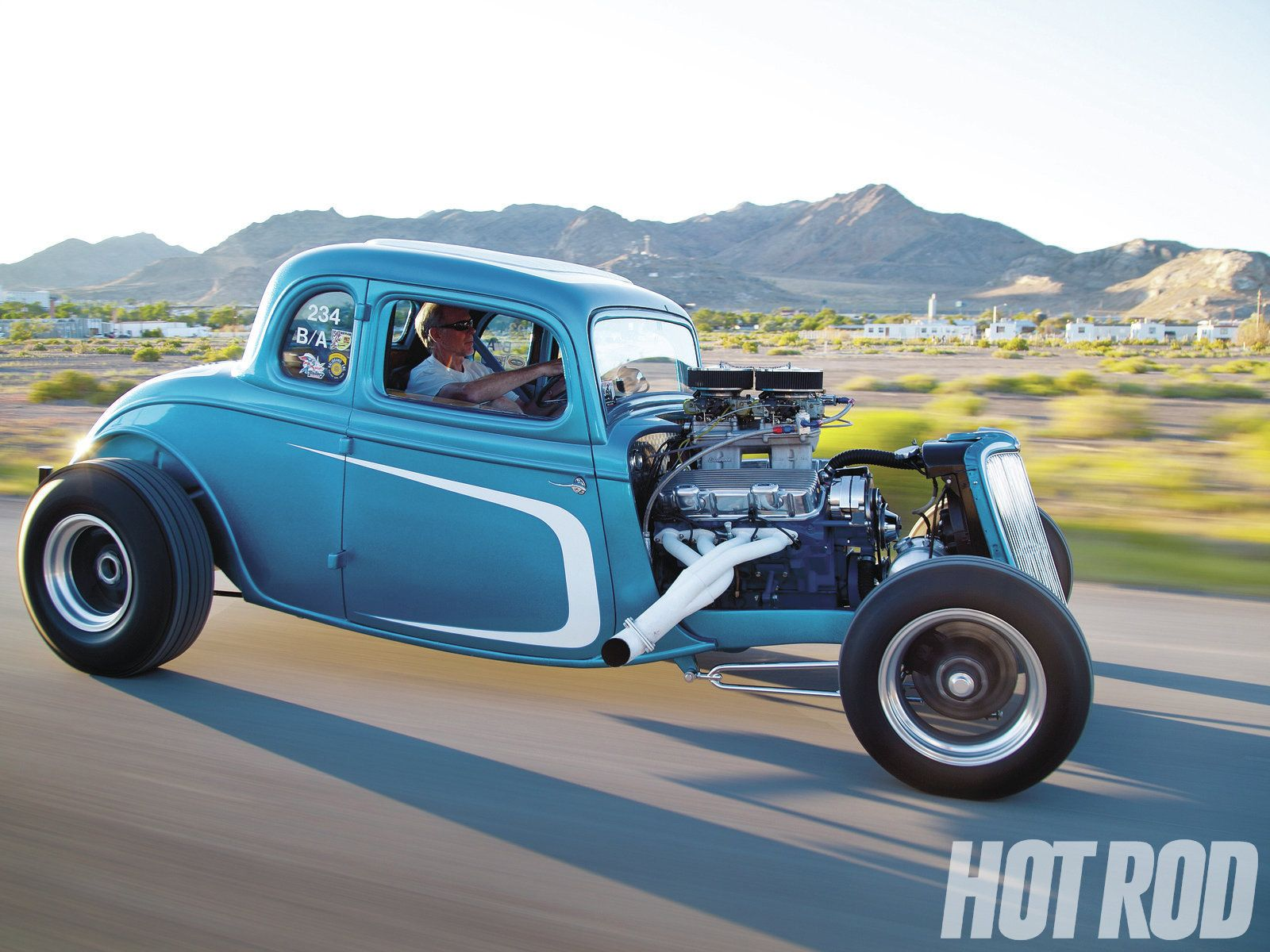 1934 Ford steel 5 W Coupe Hot Rod 454 Chevy | The H.A.M.B.