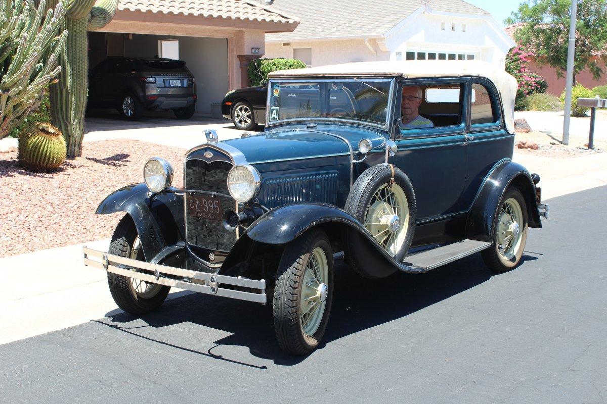 1931 Ford Model A 400 Convertible Sedan Rare Arizona