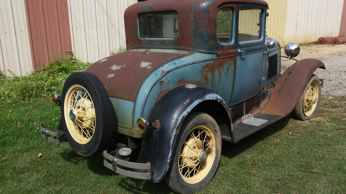 1931 Model A Ford Coupe For Parts Or Build