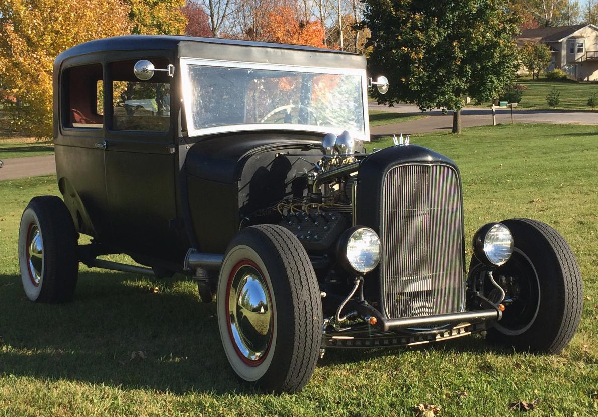 1929 Model A Ford Tudor V8 Hot Rod | The H.A.M.B.