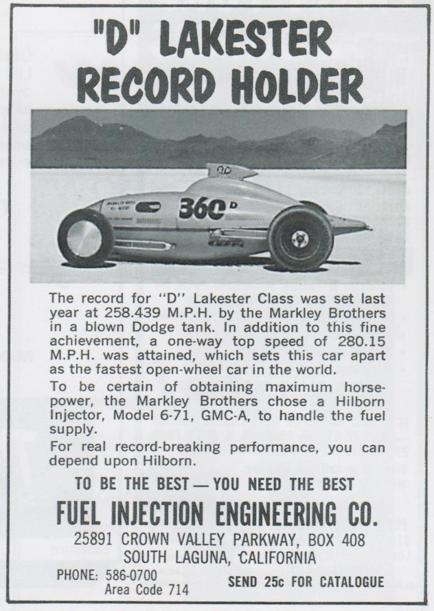 Ad on pg 27 of the 1964 16th Annual Bonneville National Speed Trials Officia Program.jpg
