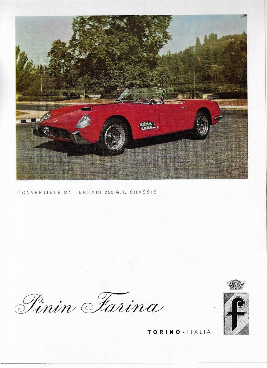ad; pinin farina - 1958 convertible on ferrari 250 gt chassis.jpeg
