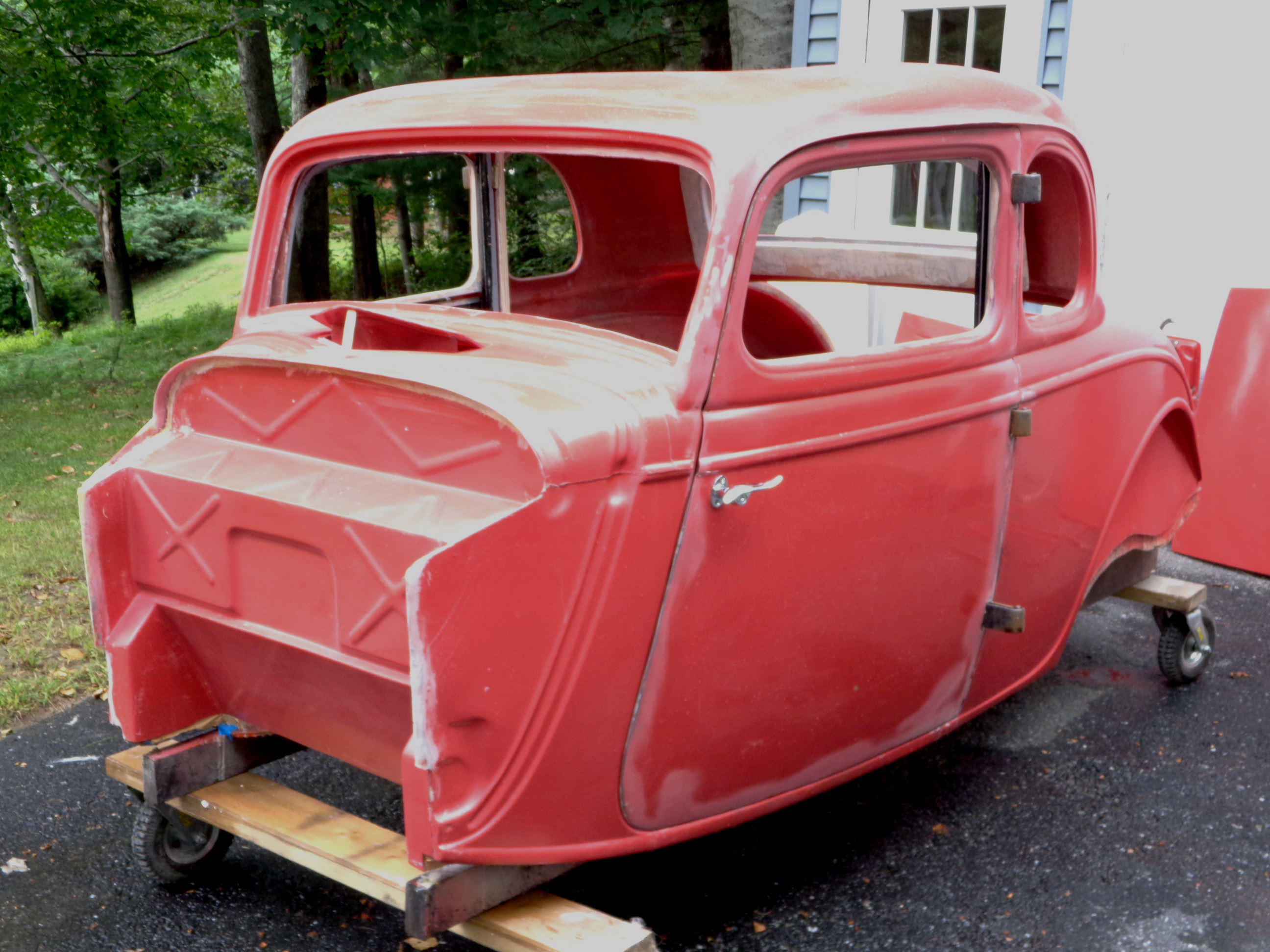 1933/34 Ford 5 Window Fiberglass Coupe Kit | The H.A.M.B.