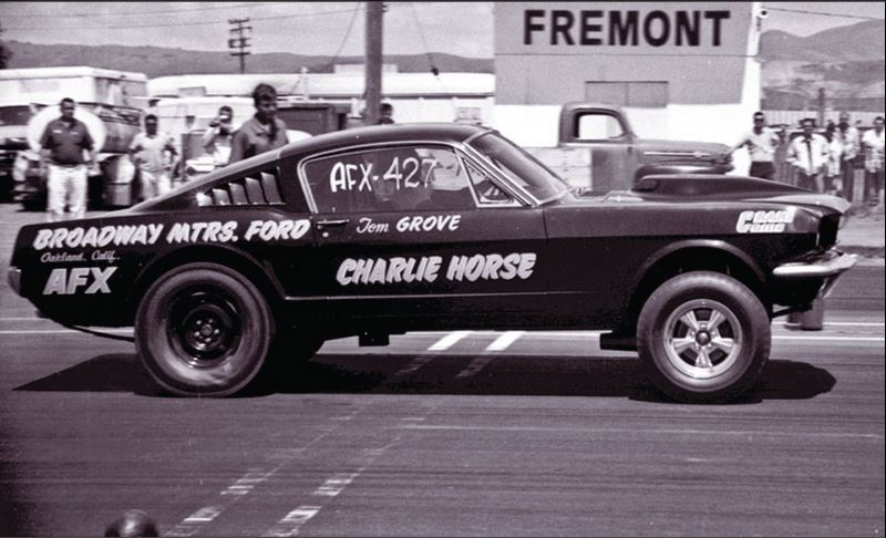 AFX Tom Grove Charlie Horse   Broadway Motors before melrose.JPG