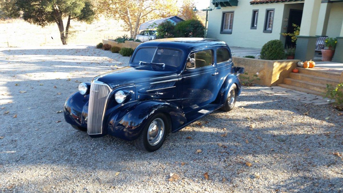 1937 Chevrolet 2 Door Sedan The H A M B