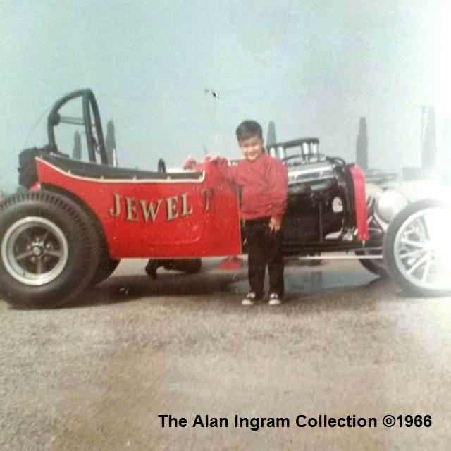 Alan Ingram with A Altered Jewel T  in 1966 (Alan Ingram Collection).jpg