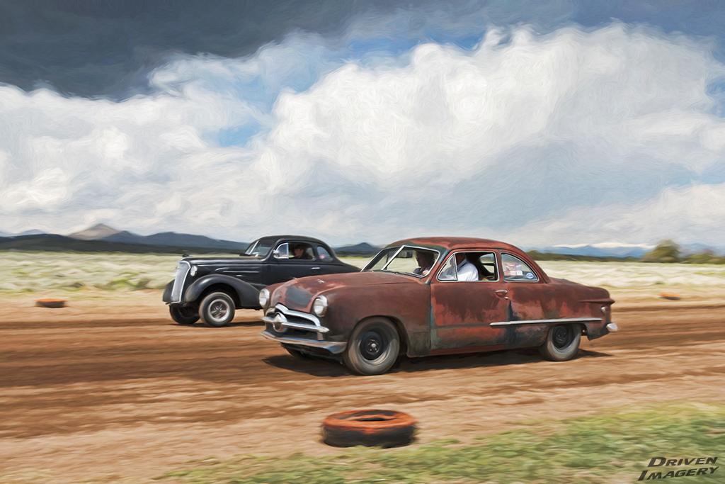 Amy Quintana - 1949 Ford Coupe & Tony Estrada - 1937 Chevrolet Coupe - Artistic.jpg
