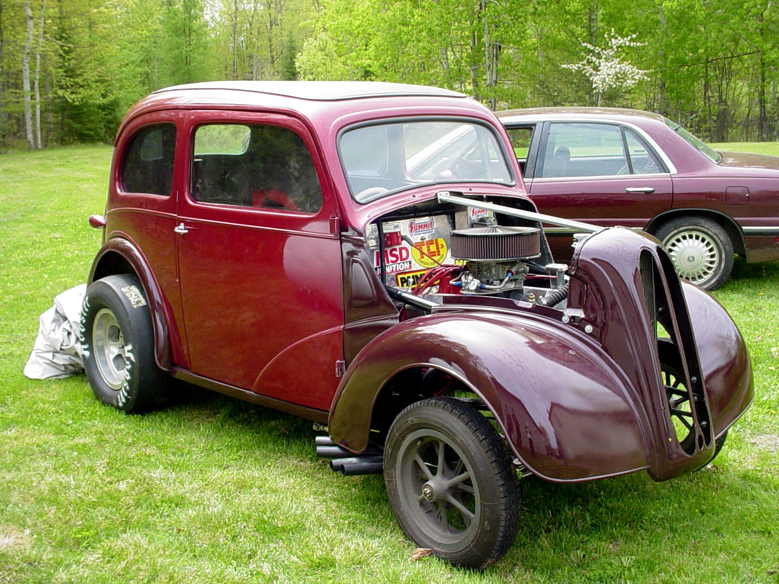 48 Anglia Old School Gasser (turnkey) | The H.A.M.B.