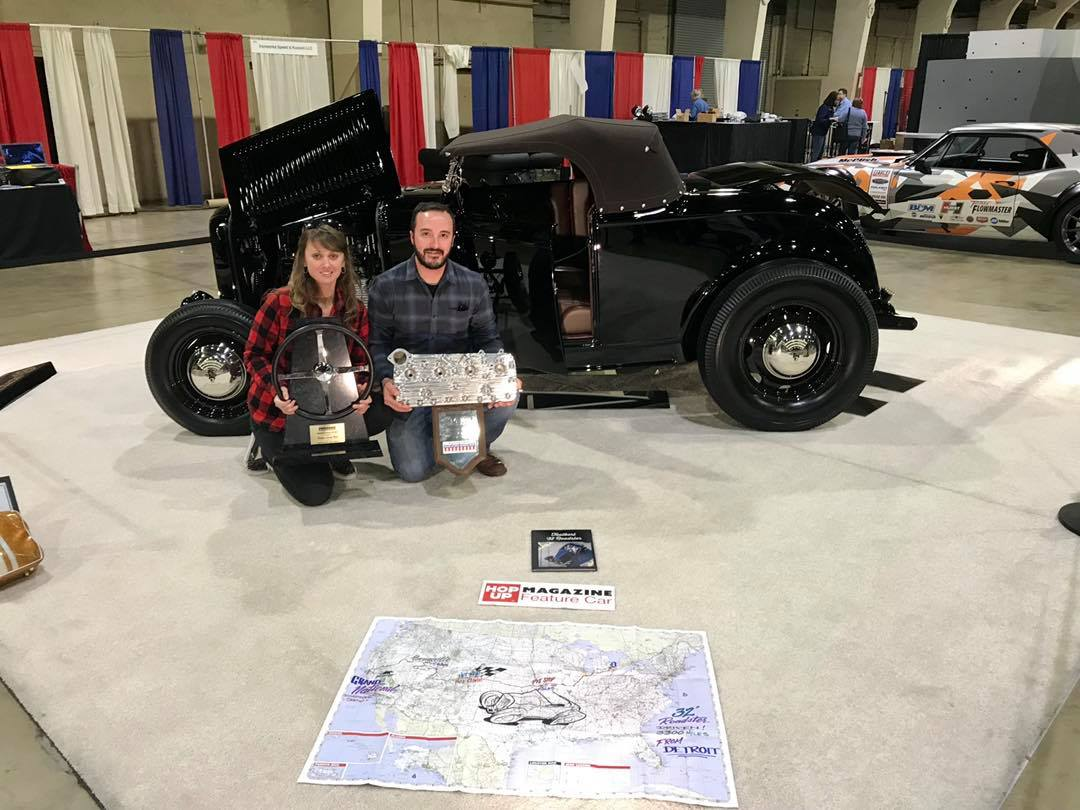 Ashley & Cory Taulbert with their AMBR contender at the '19 GNRS.jpg