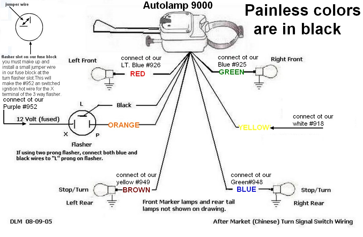 Golf Cart Turn Signal Wiring Diagram
