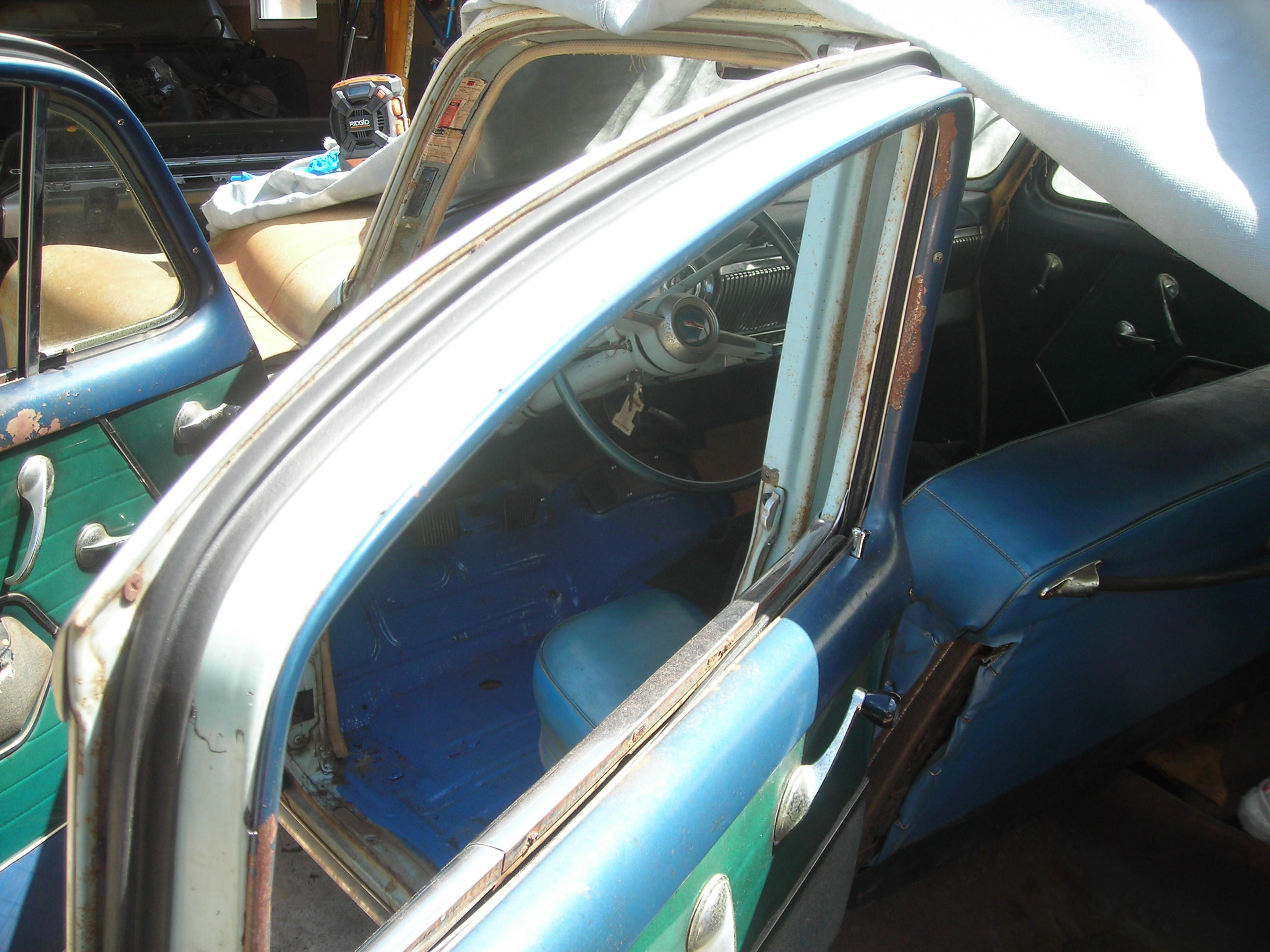 Projects 1954 Chevy Door Weatherstrip The H A M B
