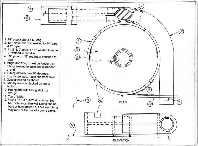 Homemade tubing bender - Has anyone