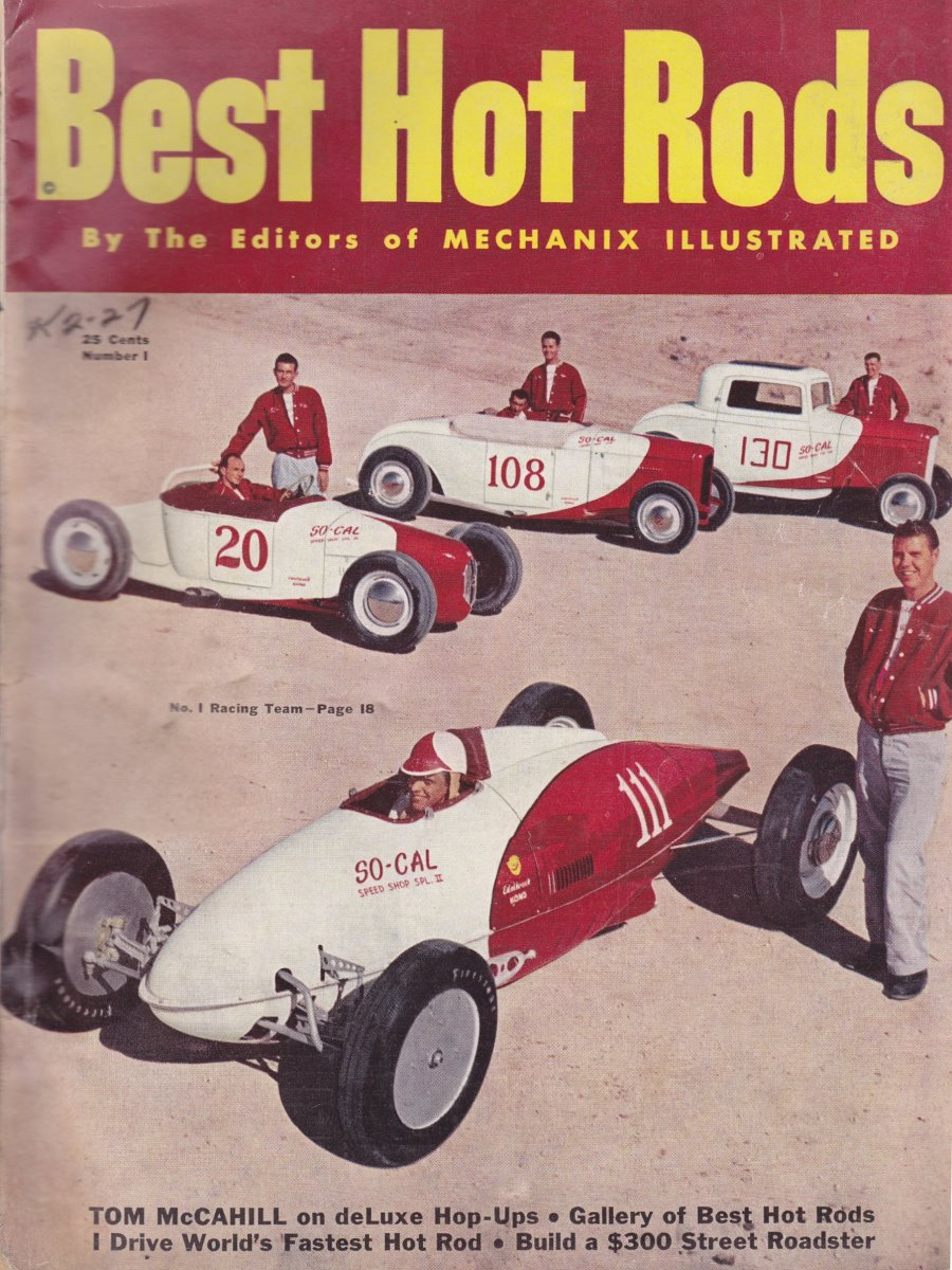 Best Hot Rods - Issue Number 1 - Cover.jpg