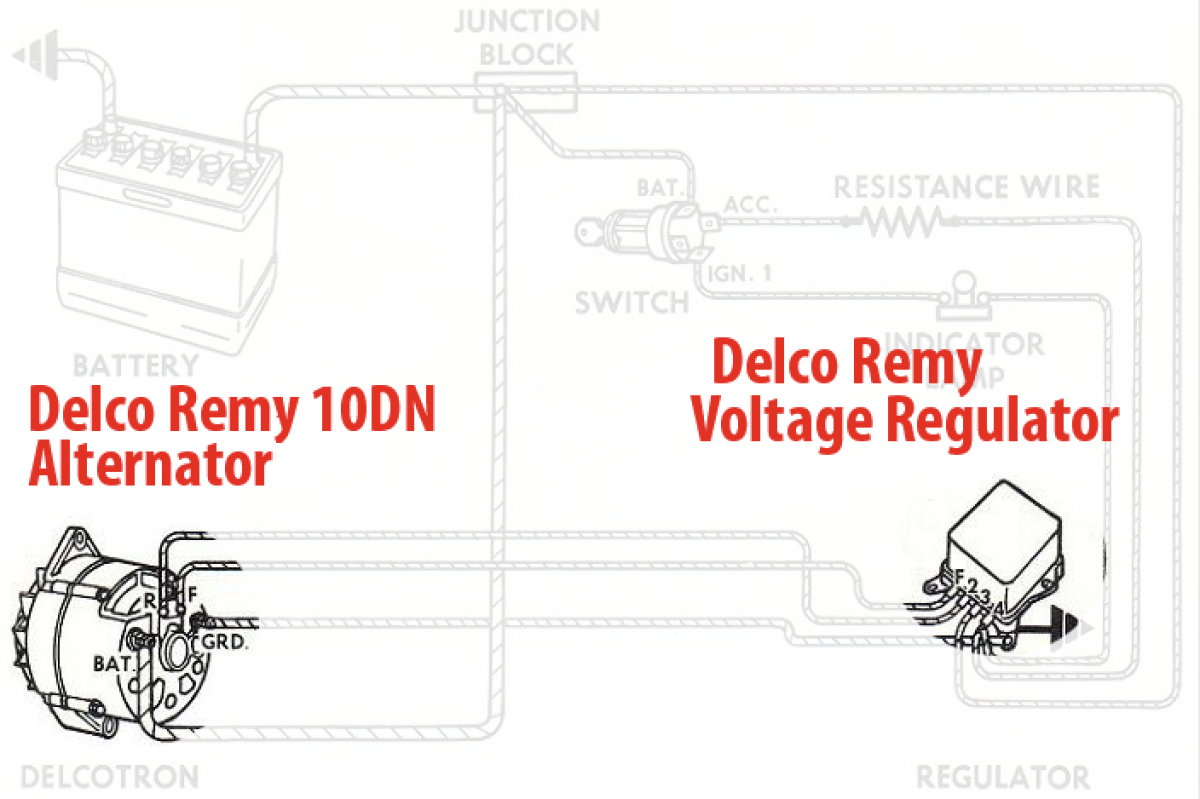 Diagram Moreover Ford External Voltage Regulator Wiring Diagram
