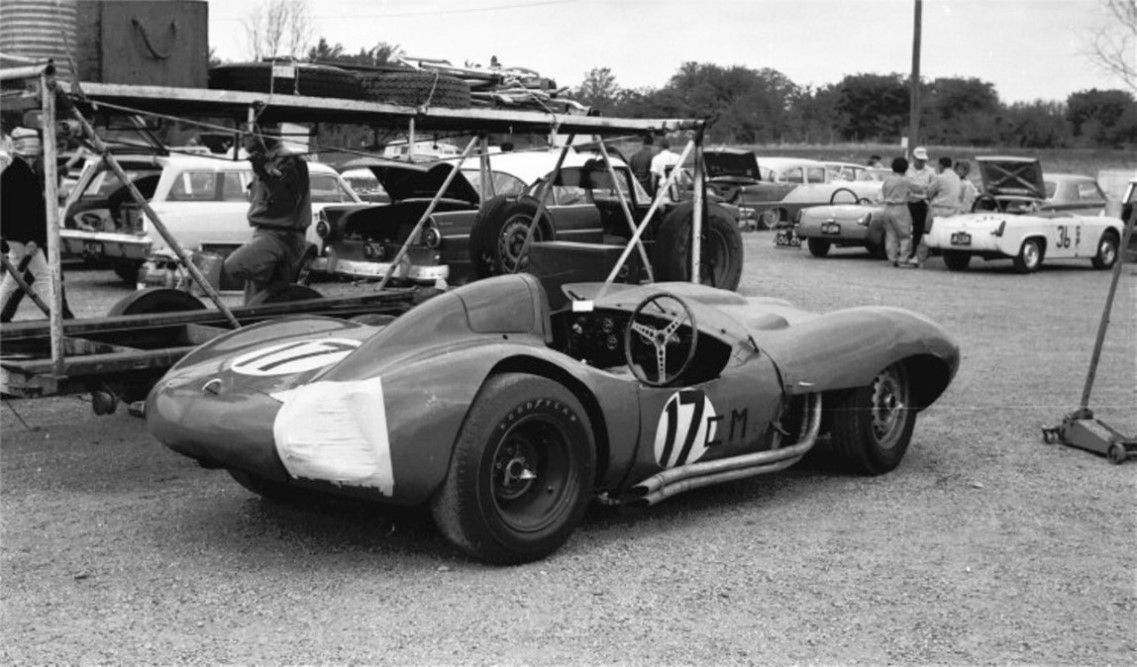 Bill Fuller  D Type Jaguar powered by a Chevy engine.jpg