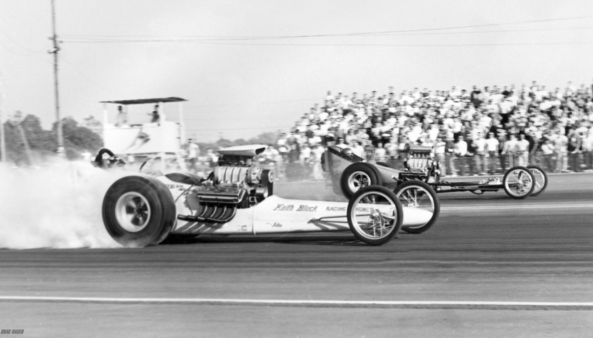 Black & Prudhomme AAFD racing Safford Guaide and Ratican's blown Oldsmobile.jpg