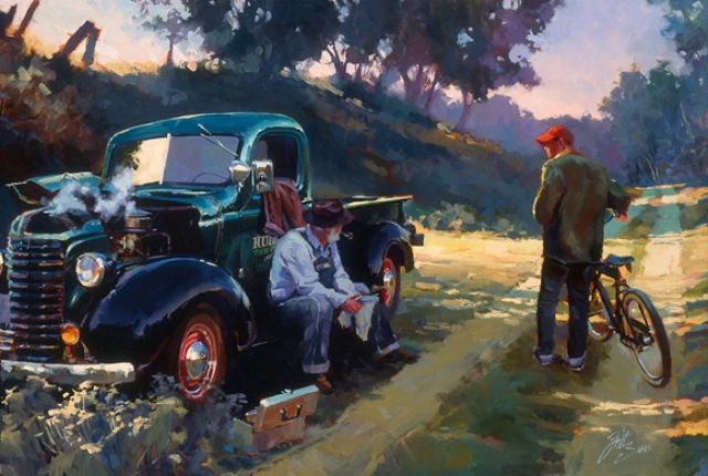 Bluto's GMC Pickup - 'Get_Ya_A_Jug_Of_Water' - by Tom Fritz.jpg