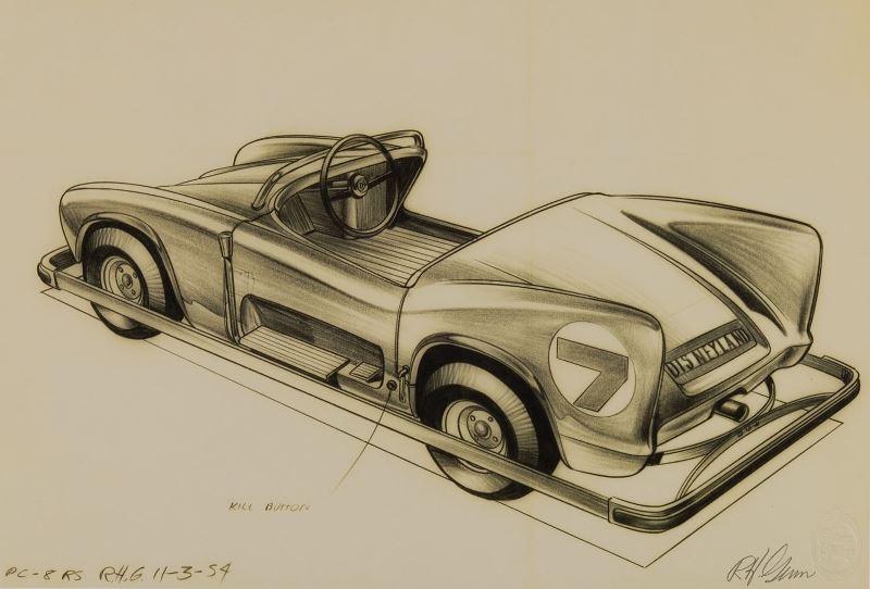 Bob Gurr Autopia Concept drawing (Nov 3rd 1954).jpg