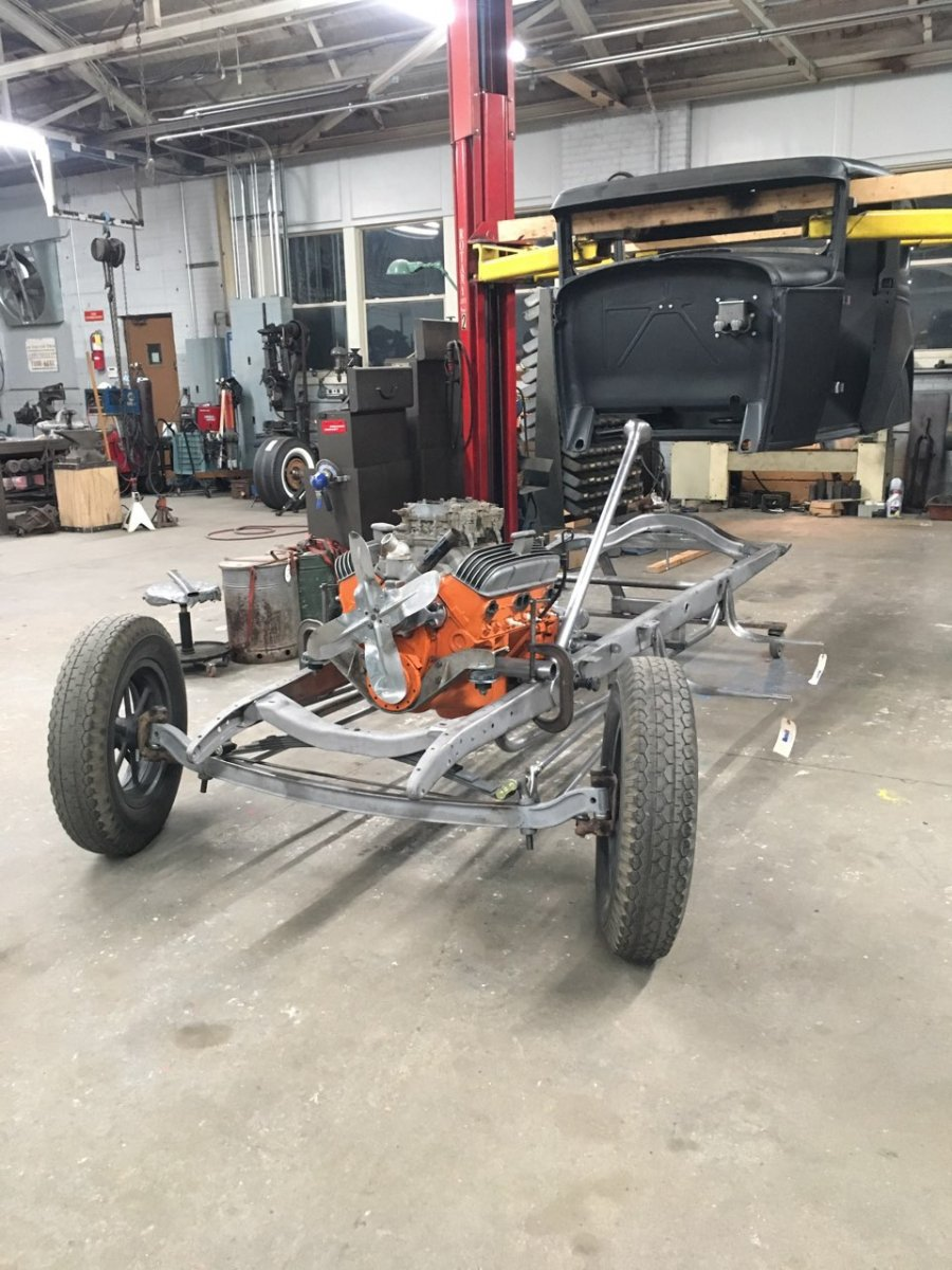 Body Coming Off Model A Chassis 2.jpg