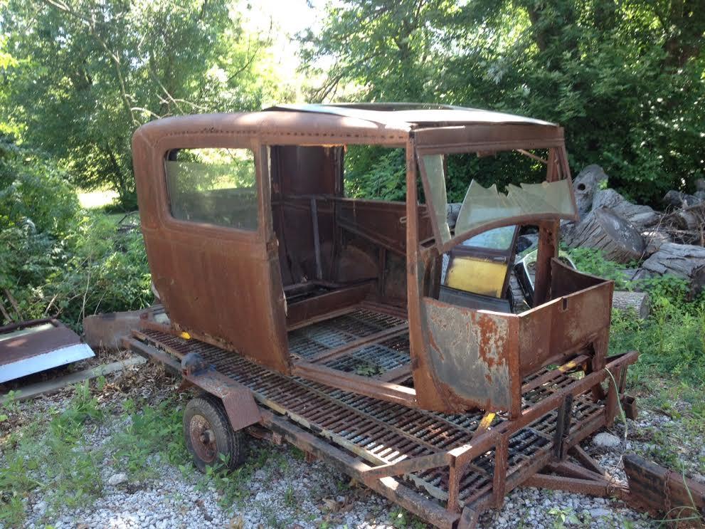 1929 Model A 2 Door Sedan Body | The H.A.M.B.