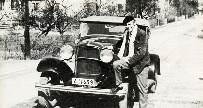 Bosse Ericsson's 32 Ford  Purchased in 1959 Fitted with Chevy V8.PNG