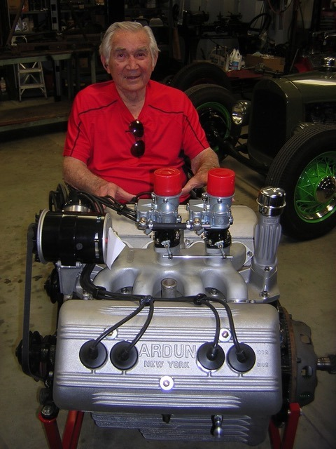 Bruce Crower with ARDUN (from the San Diego Roadster Club FB page).jpg