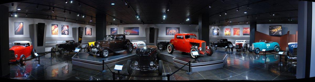 Bruce Meyer Display - Petersons Auto Museum - Feb 2012.jpg