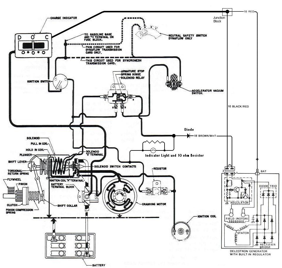 technical - 1959 buick push gas to start with an ... 1972 ford regulator wiring diagram 1959 ford regulator wiring