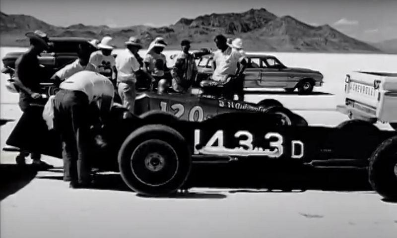 B'ville '64 - #120  B&N Automotive A Modified Roadster and #1433 Bennett & Rochlitzer D Lakester.JPG