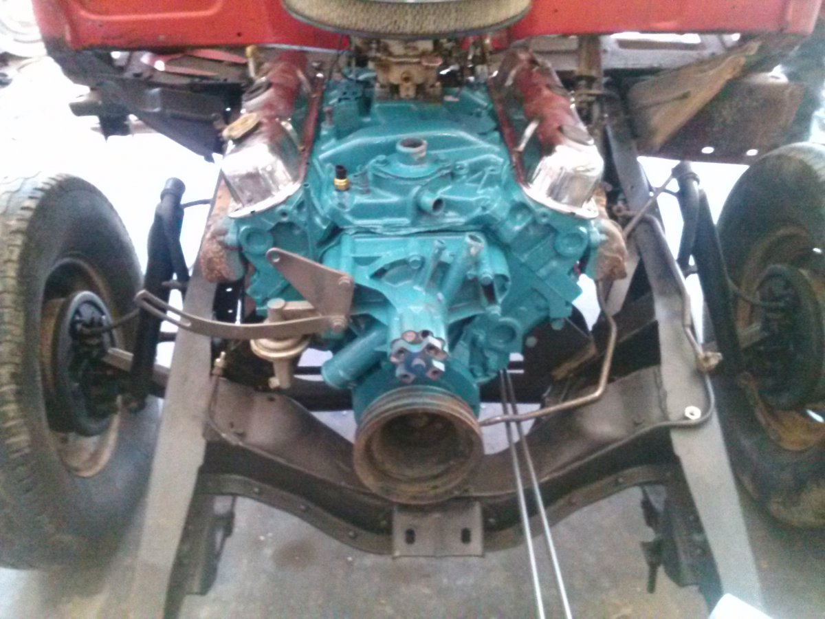 Technical - 318 Engine Install In 1955 Dodge Pickup Truck??? | Page