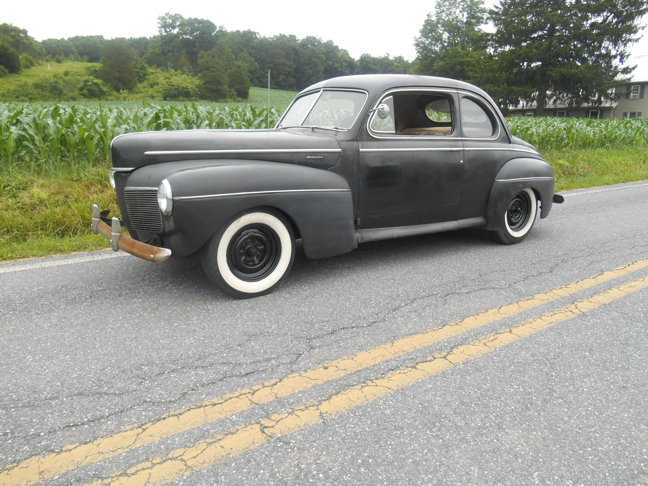 1941 Mercury Cp Old East Coast Hot Rod For Sale Or Trade The Hamb 4 Door Sedan Car 004