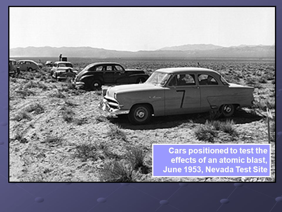 Cars+positioned+to+test+the+effects+of+an+atomic+blast,+June+1953,+Nevada+Test+Site.jpg