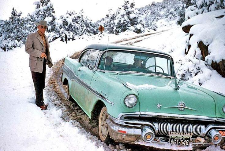 cars steep snowy arizona plates.jpg