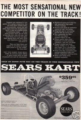 Sears two seater Go Karts Pinterest