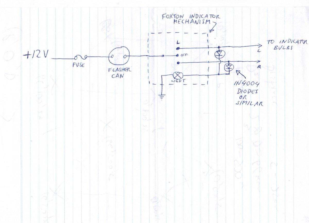 Foxton Turn Signal Kit Problem