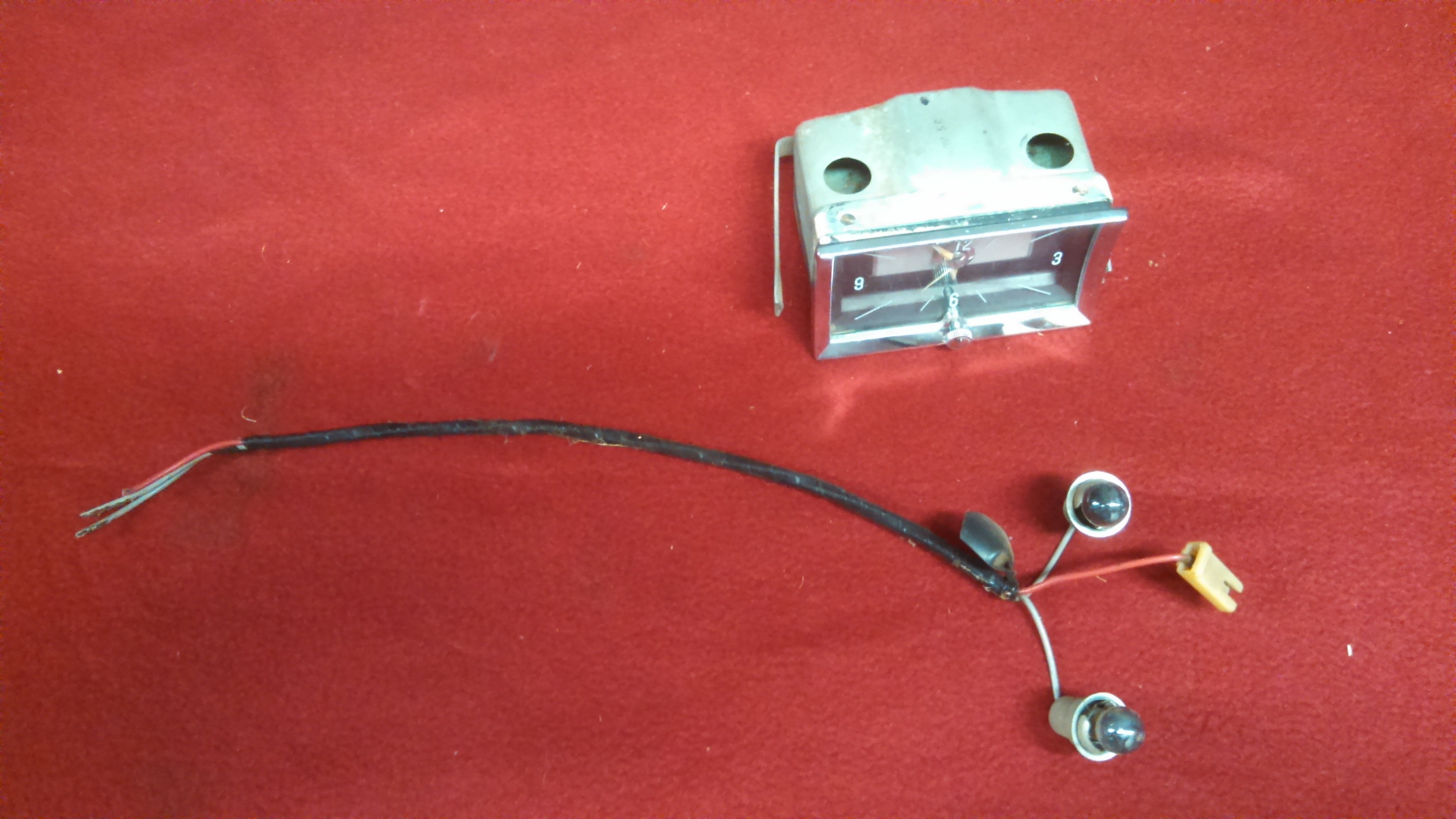 1957 Chevy Dash Clock 57 The Hamb Wiring Cell Phone 032